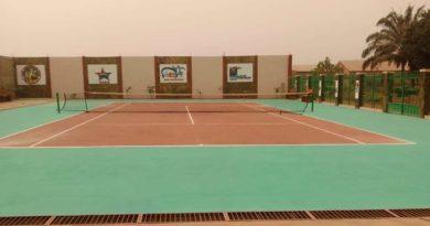 Bohicon: Un nouveau court de tennis voit le jour