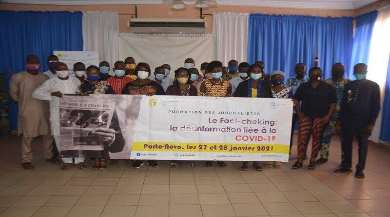Fact-checking lié au Covid-19: Une trentaine de journalistes béninois en conclave à Porto-Novo (Vidéo)